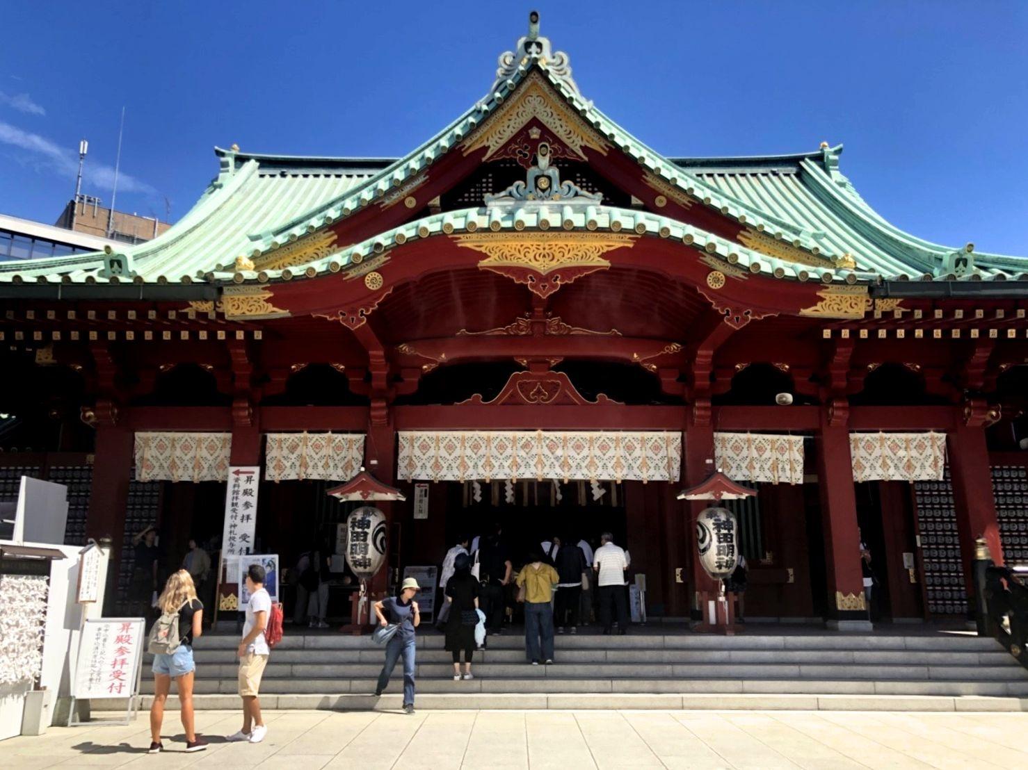 神田明神 本殿の写真
